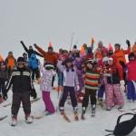Aventura pe schiuri la altitudine