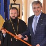 Cadou special pentru episcopul Caransebesului