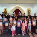 Copiii, sarbatoriti la Episcopia Caransebesului