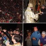 Caransebesenii au primit Lumina Invierii