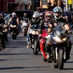Parada moto antidrog la Caransebes