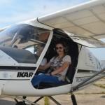 Giulia, fata care zboara singura la 16 ani
