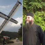 Vela le-a daruit oltenilor o cruce care se poate vedea din Serbia