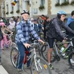 Mars al biciclistilor prin Caransebes