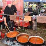 Delicii gastronomice la Serbarile Cetatii