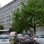 Pacientii spitalului din Caransebes stau cu paltoanele pe ei