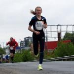 Liliana Danci alearga la Maratonul de la Viena