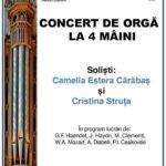 Concert de orga  la 4 maini