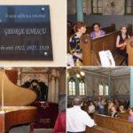 George Enescu omagiat la Caransebes