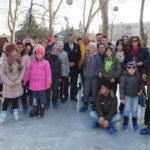 Poftiti pe gheata in Parcul Dragalina