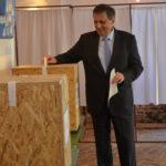 Marcel Vela, vot pentru democratie si romani optimisti