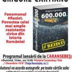 Lansare de carte – Grigore Cartianu