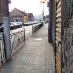 Strada care a devenit parcare