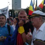 Primarul Caransebesului, la protestul Diasporei