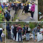Let's do it, Caransebes: 300 de voluntari, 500 de saci cu gunoaie!