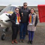 De Centenar, Tricolorul a fluturat si deasupra Caransebesului