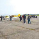 Minisateliţi și porți deschise la Aeroportul Caransebeș!