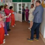 Calea spre morgă, mai frumoasă la spitalul din Caransebeș