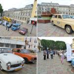 """Mașini din """"Epoca de Aur"""" la Caransebeș"""