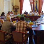 Consilierii caransebeşeni, în şedinţă de lucru