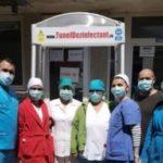 Patru tuneluri de dezinfecţie au fost montate la spitalul din Caransebeş