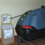 Piaţa Gugulanilor şi-a luat un aparat pentru igienizare zilnică