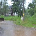 Ploaia creează probleme la Caransebeș
