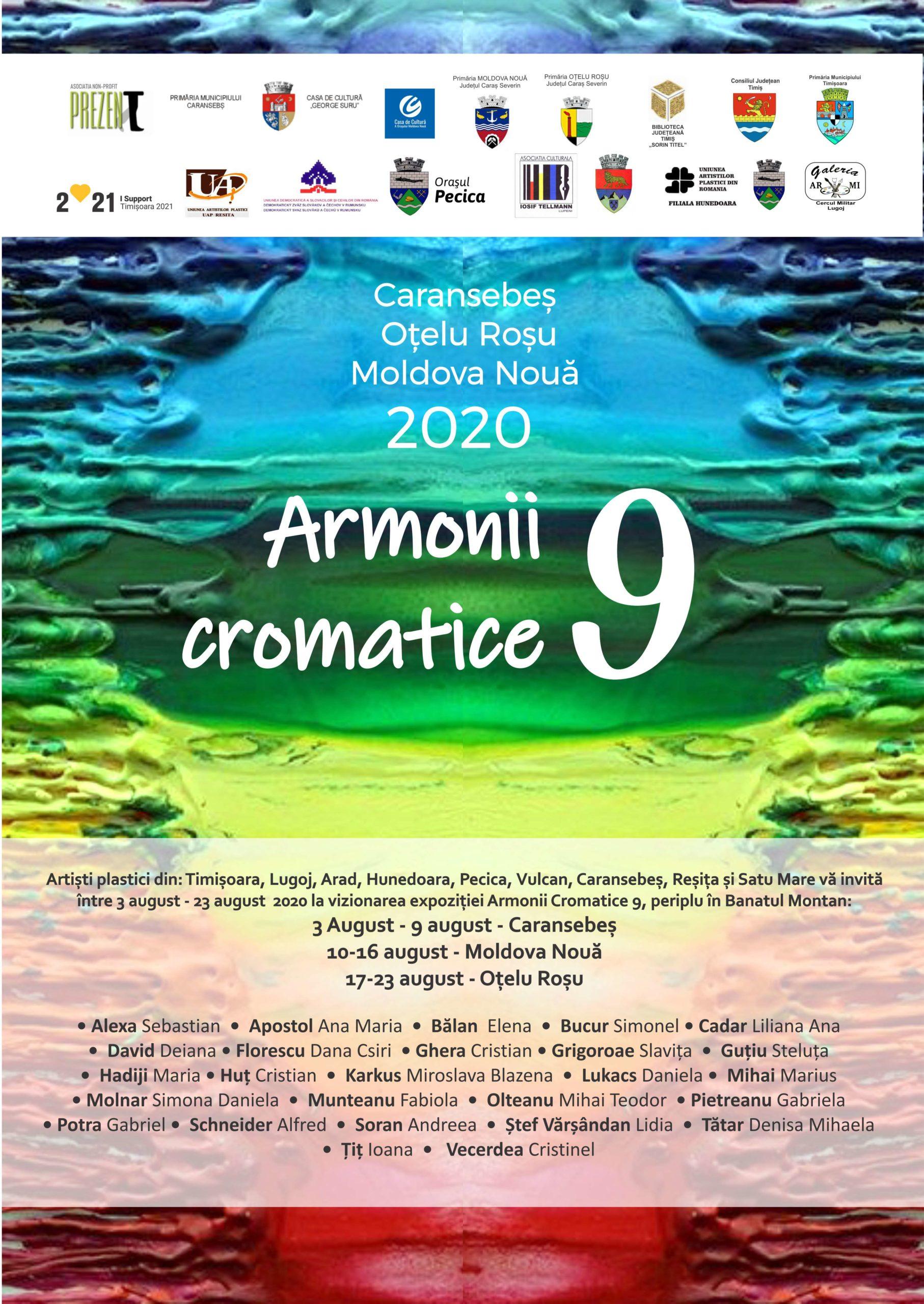 armonii cromatice la caransebes