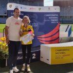 Liliana Dragomir, vicecampioană națională cu record personal la 10.000 de metri