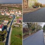La Caransebeș, asfaltările intră în vacanța de iarnă