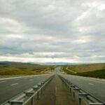 Autostradă în apropierea Caransebeşului