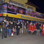 Nadina Party Bus, demaraj de sărbători la Caransebeş