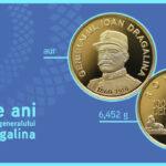 Monedă omagială dedicată generalului Ioan Dragalina, lansată de BNR