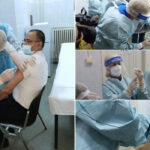FOTO! Primii medici vaccinați anti-Covid la Caransebeș: Aveți încredere în vaccin!